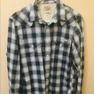 Men's Small Lucky Brand Button Down Shirt